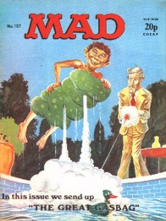 Go to MAD Magazine #157 • Great Britain