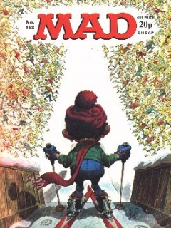 Go to MAD Magazine #158 • Great Britain