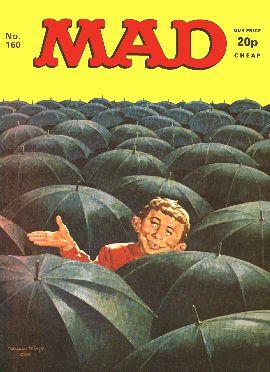 MAD Magazine #160 • Great Britain