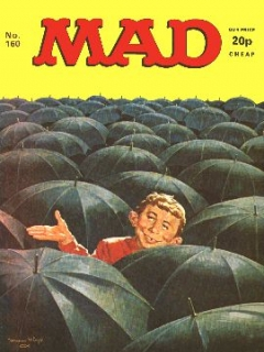 Go to MAD Magazine #160 • Great Britain