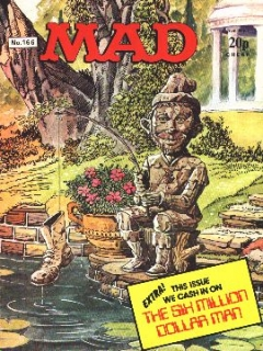 Go to MAD Magazine #166 • Great Britain