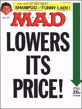 MAD Magazine #167 • Great Britain