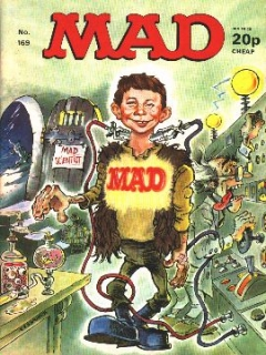Go to MAD Magazine #169 • Great Britain