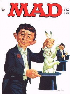 Go to MAD Magazine #171 • Great Britain