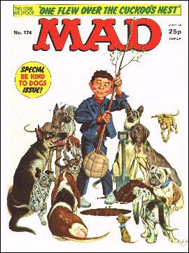 MAD Magazine #174 • Great Britain