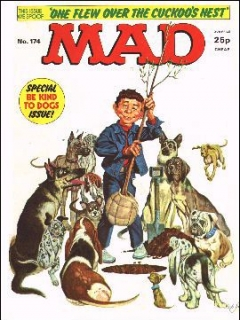 Go to MAD Magazine #174 • Great Britain