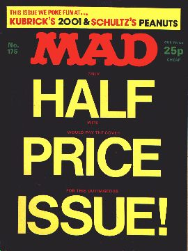 MAD Magazine #175 • Great Britain