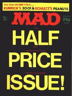 Go to MAD Magazine #175 • Great Britain
