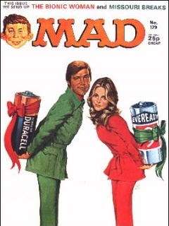 Go to MAD Magazine #179 • Great Britain