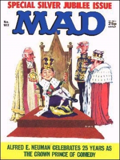 Go to MAD Magazine #182 • Great Britain