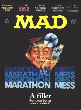 MAD Magazine #183 • Great Britain