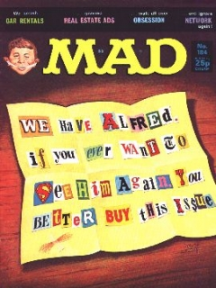 Go to MAD Magazine #184 • Great Britain