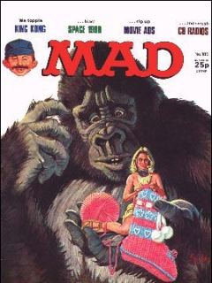 Go to MAD Magazine #185 • Great Britain