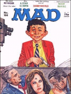Go to MAD Magazine #186 • Great Britain