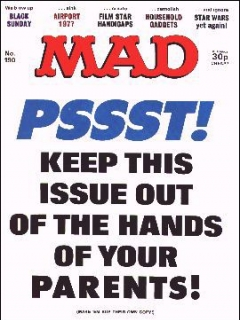 Go to MAD Magazine #190 • Great Britain