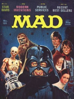 Go to MAD Magazine #191 • Great Britain