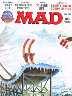 Go to MAD Magazine #192 • Great Britain