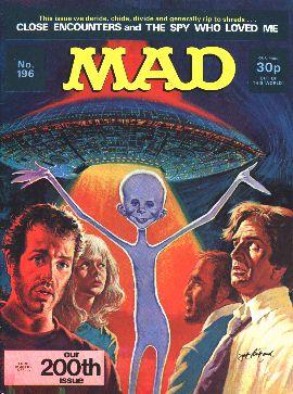 MAD Magazine #196 • Great Britain