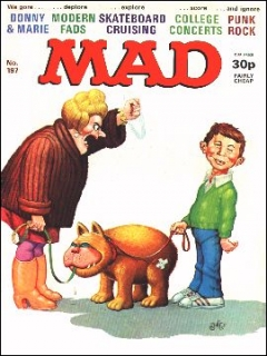 Go to MAD Magazine #197 • Great Britain