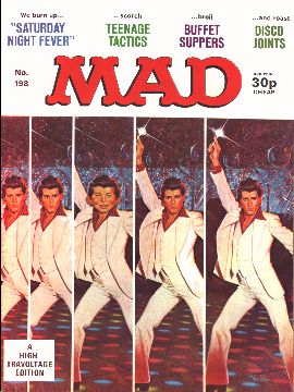 MAD Magazine #198 • Great Britain