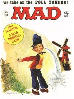 Go to MAD Magazine #199 • Great Britain