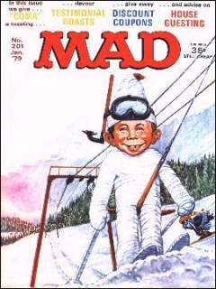 Go to MAD Magazine #201 • Great Britain