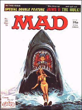 MAD Magazine #203 • Great Britain
