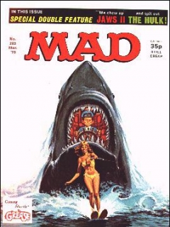 Go to MAD Magazine #203 • Great Britain