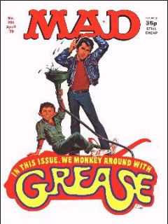 Go to MAD Magazine #204 • Great Britain