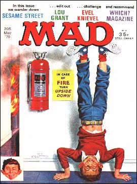 MAD Magazine #205 • Great Britain