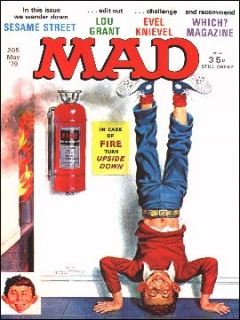 Go to MAD Magazine #205 • Great Britain