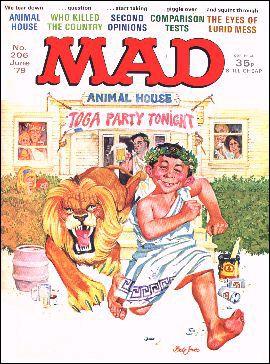 MAD Magazine #206 • Great Britain