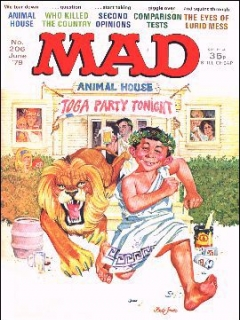 Go to MAD Magazine #206 • Great Britain