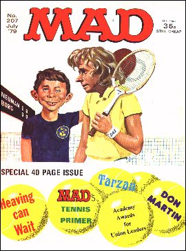 MAD Magazine #207 • Great Britain
