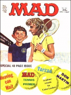 Go to MAD Magazine #207 • Great Britain