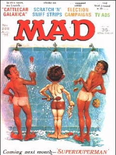 Go to MAD Magazine #208 • Great Britain