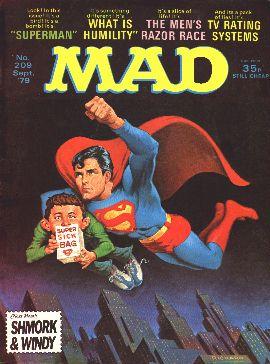 MAD Magazine #209 • Great Britain