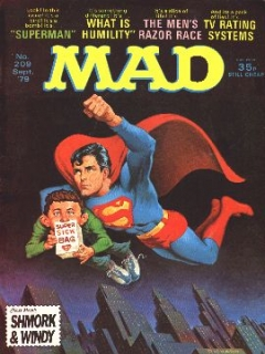 MAD Magazine #209 (Great Britain)