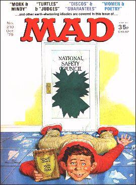 MAD Magazine #210 • Great Britain