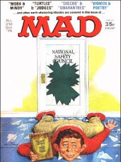 Go to MAD Magazine #210 • Great Britain