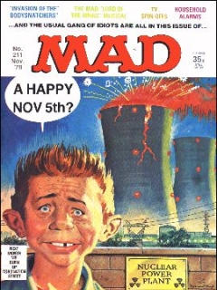 Go to MAD Magazine #211 • Great Britain