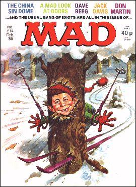 MAD Magazine #214 • Great Britain