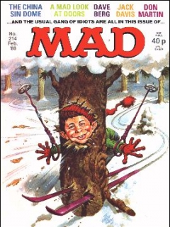 Go to MAD Magazine #214 • Great Britain