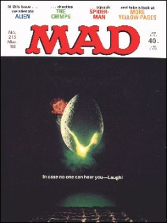Go to MAD Magazine #215 • Great Britain