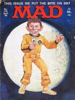 Go to MAD Magazine #216 • Great Britain