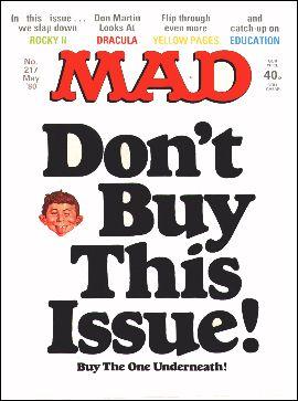 MAD Magazine #217 • Great Britain