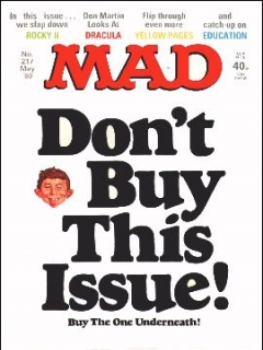 Go to MAD Magazine #217 • Great Britain