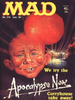 Go to MAD Magazine #219 • Great Britain