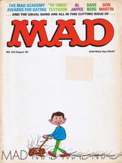 Go to MAD Magazine #220 • Great Britain