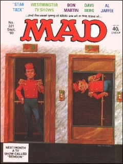 Go to MAD Magazine #221 • Great Britain